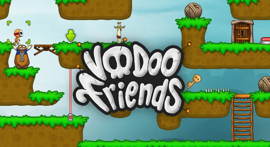 Voodoo Friends screenshot and logo